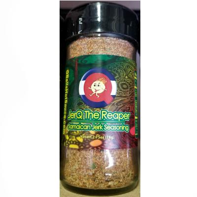 Qball's JERQ THE REAPER - Jamaican Jerk Seasoning with Carolina Reaper Chiles