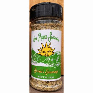 Sascha's Lime Pepper Seasoning
