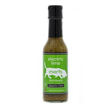 merfs, electric lime Hot Sauce