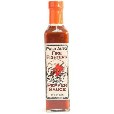 PALO ALTO FIREFIGHTERS, XX HABANERO Pepper Hot Sauce