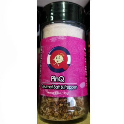 Qball's PINQ - Exotic Salt & Super-Hot Pepper