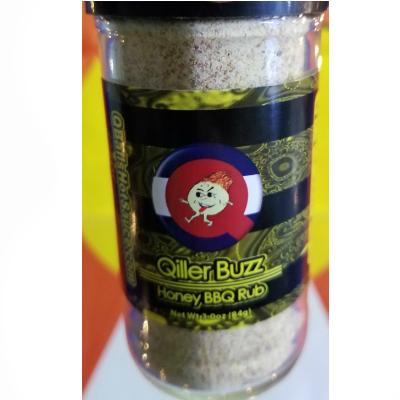 Qball's QILLER BUZZ - Gourmet Honey BBQ Rub