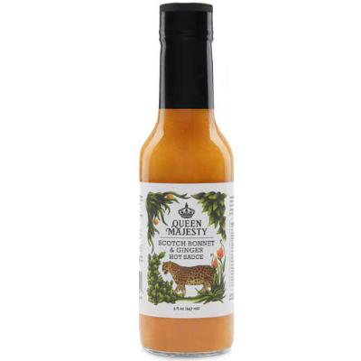 QUEEN MAJESTY, SCOTCH BONNET & GINGER Hot Sauce