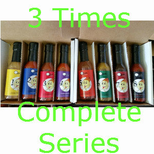1 - 8 BALL (3 of each sauce), Qball's Retail Starter Kit