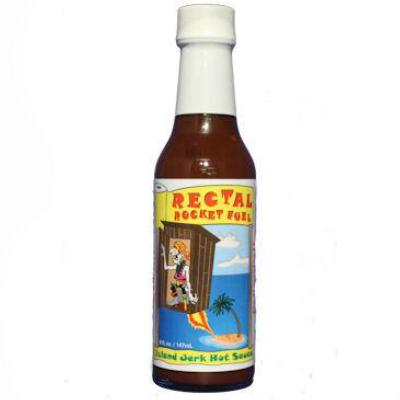 Sauce Crafters RECTAL ROCKET FUEL Hot Sauce