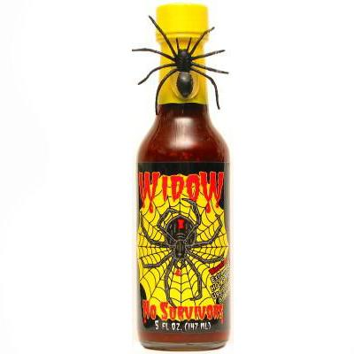 Sauce Crafters WIDOW: NO SURVIVORS Hot Sauce