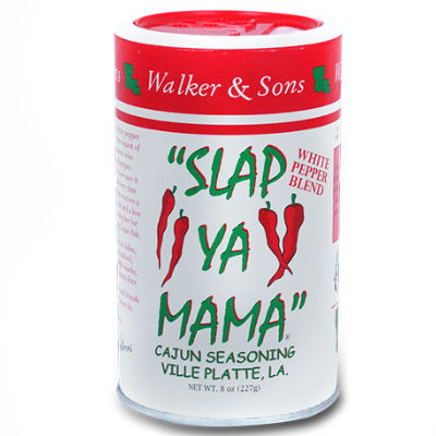 Slap Ya Mama WHITE PEPPER Cajun Seasoning 8 oz