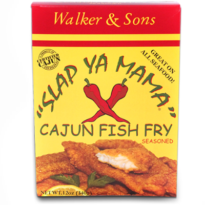 Slap Ya Mama CAJUN FISH FRY 12 oz