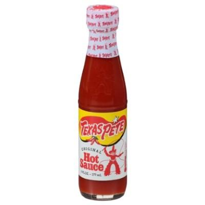 TEXAS PETE, ORIGINAL Hot Sauce (6 fl oz)