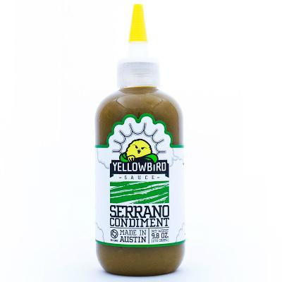 Yellowbird Sauce SERRANO Condiment