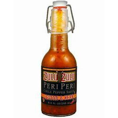 Zulu Zulu LEMON AND HERB Peri-Peri Chile Pepper Sauce