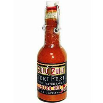 Zulu Zulu EXTRA HOT Peri-Peri Chile Pepper Sauce