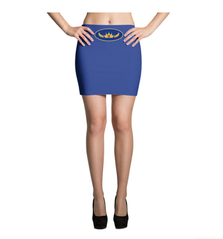Mystery Queen Costume Mini Skirt