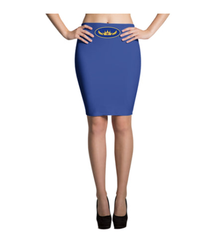 Mystery Queen Costume Pencil Skirt