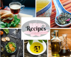 Recipes for cooking, baking and preparing our olive oils, balsamic vinegars and teas