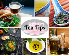 Tips and recipe suggestions for brewing the perfect cup of tea