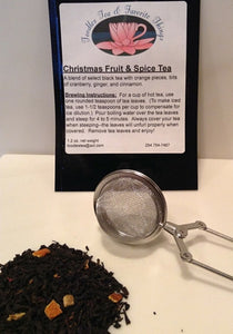 Christmas Fruit and Spice Tea