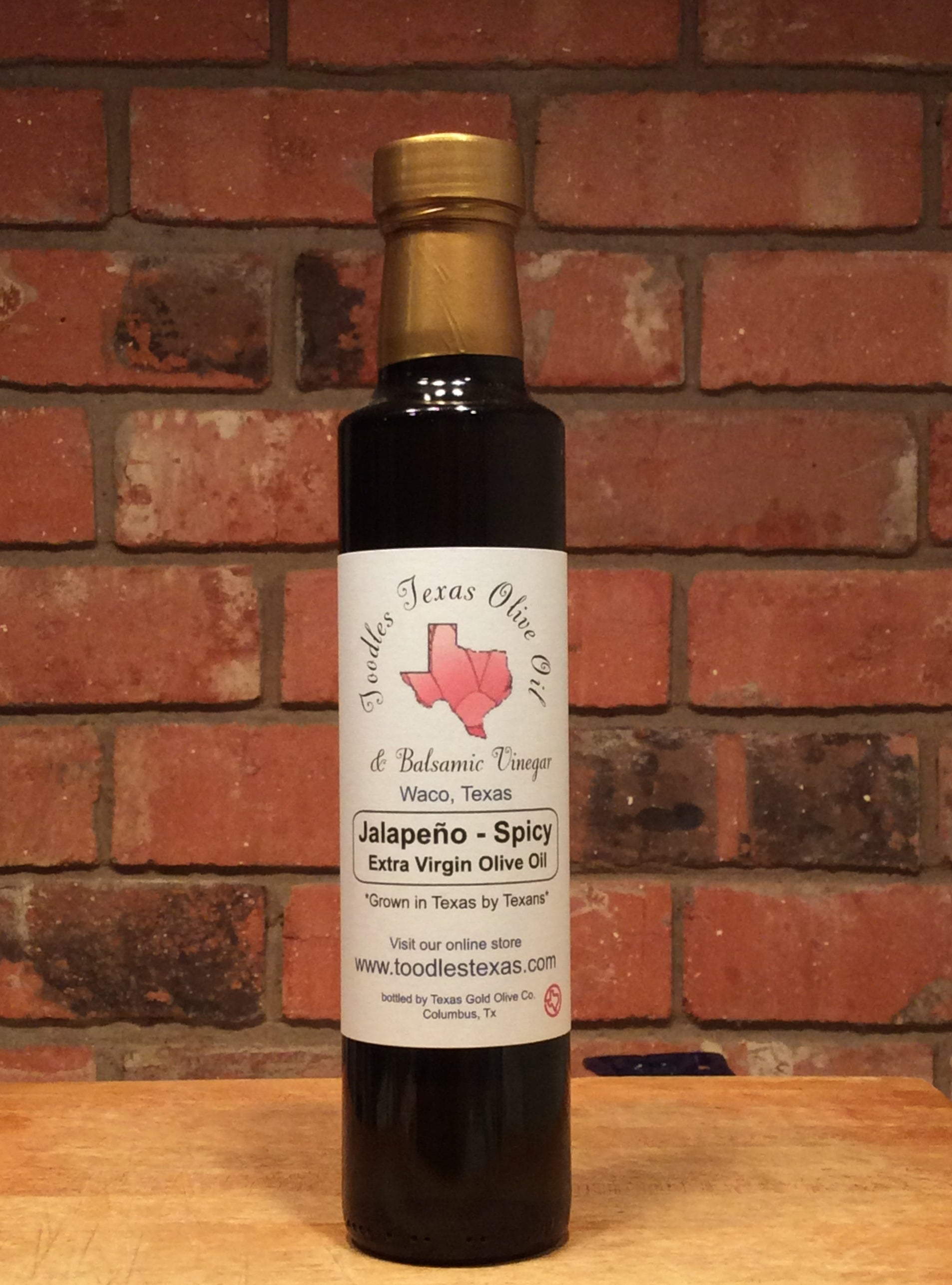 Texas Jalapeno Infused Extra Virgin Olive Oil - Spicy