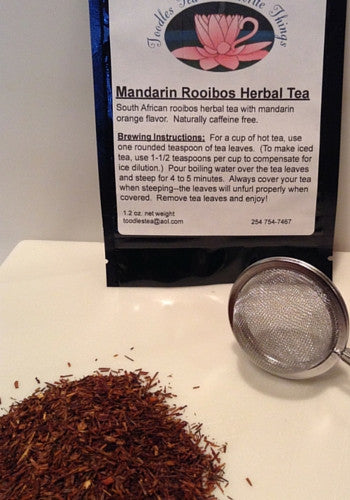 Mandarin Rooibos Herbal Tea