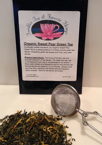 Organic Sweet Pear Green Tea