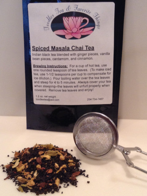 Spiced Masala Chai Tea