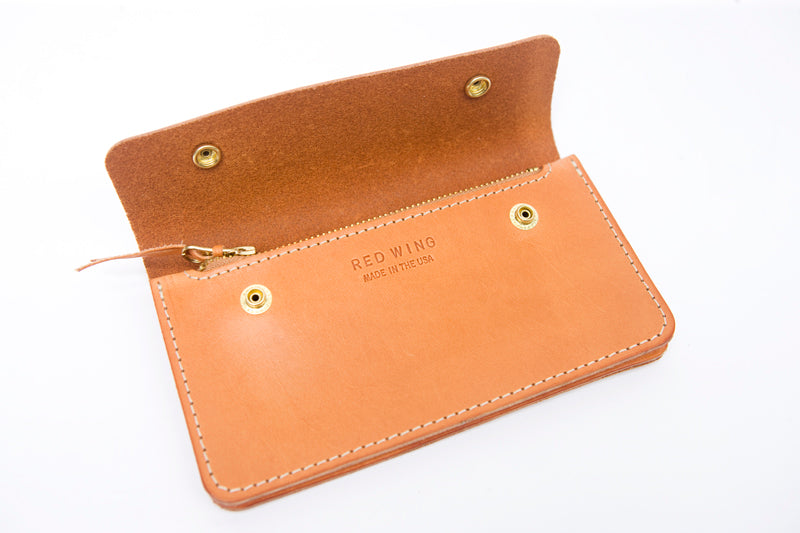 7cc9b0763471b Trucker Wallet Vegetable-Tan Leather - Red Wing London