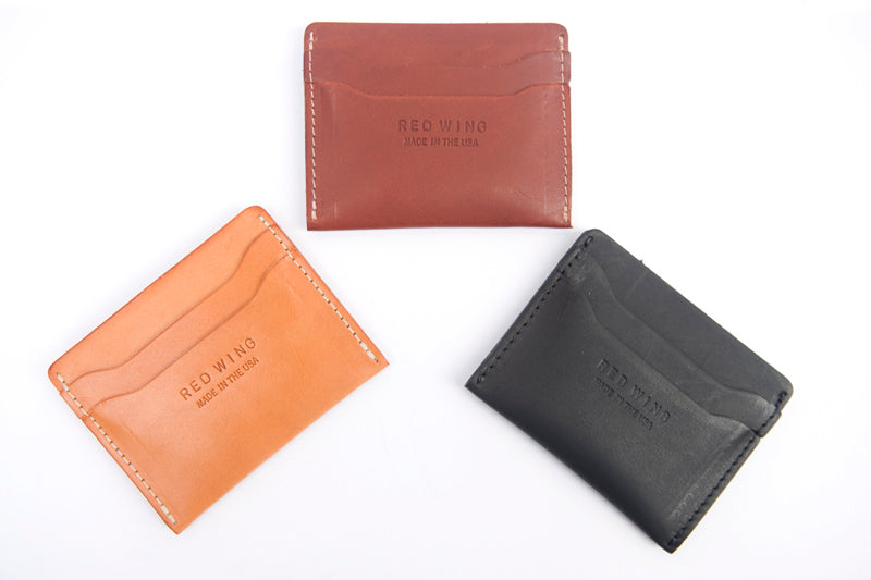 Card holder vegetable tan leather red wing london card holder vegetable tan leather reheart Choice Image
