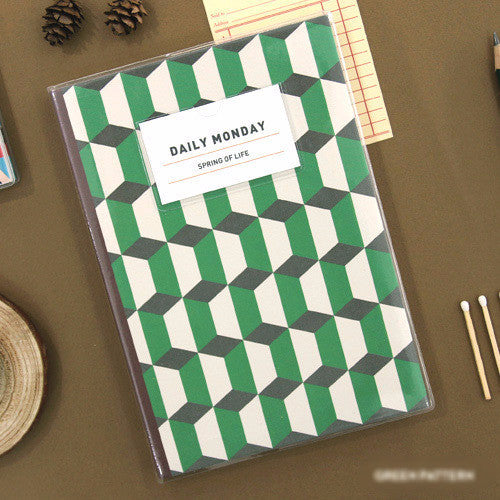 Agenda Retro Verde - Sweetly Before - 1