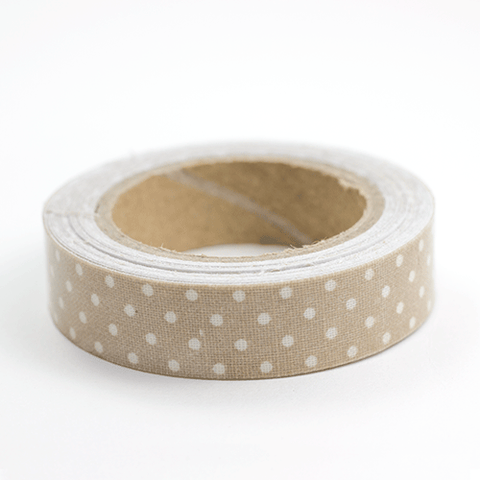 Fabric Tape puntos nude - Sweetly Before