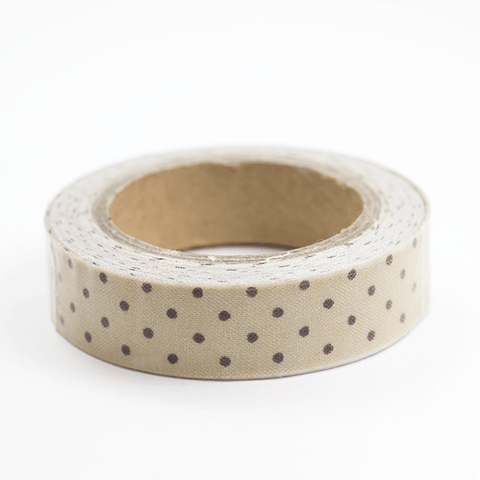 Fabric Tape puntos camel - Sweetly Before