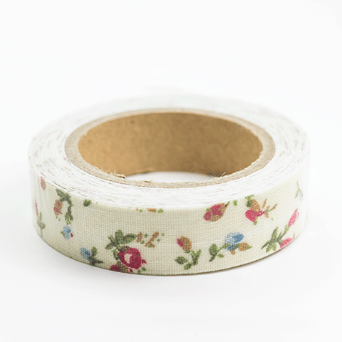 Fabric Tape rosas - Sweetly Before