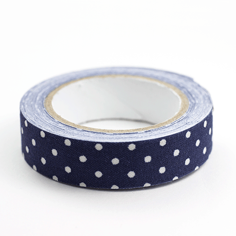 Fabric Tape puntos navy - Sweetly Before