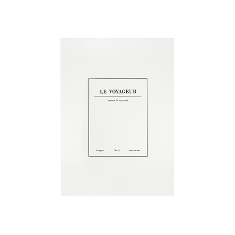 Cuaderno Le Voyageur blanco - Sweetly Before - 5