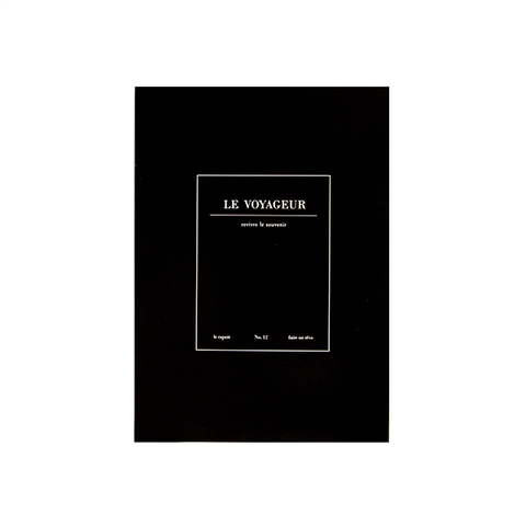 Cuaderno Le Voyageur negro - Sweetly Before - 5