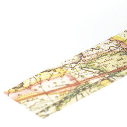 Washi tape Map - Sweetly Before - 2