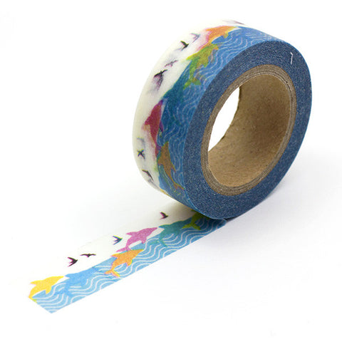 Washi tape Delfin Japo - Sweetly Before - 1