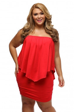 Red Layer Dress