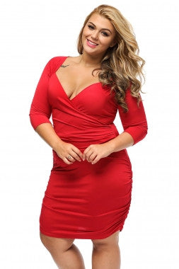 Curvy Red Dress