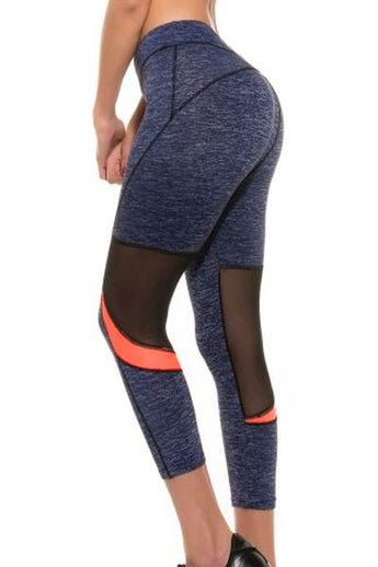Navy Sporty Leggings