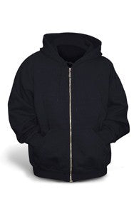 Youth Zip Hoodies with RAMS logo