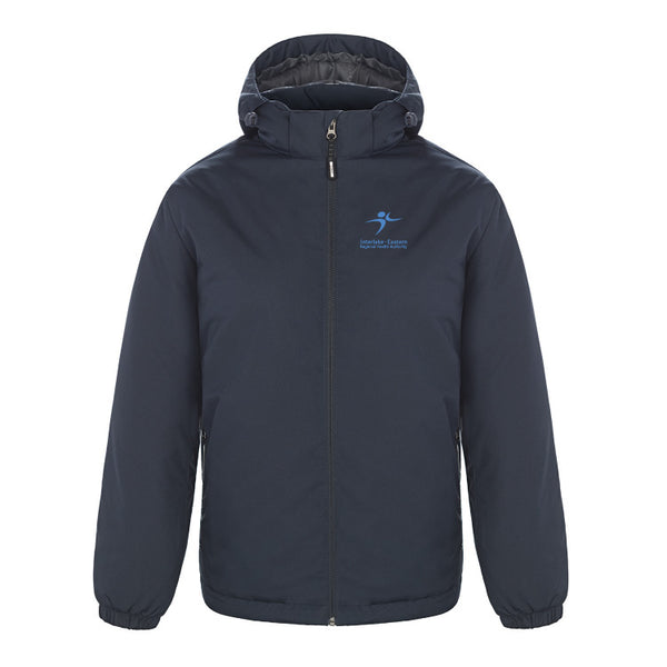 Insulated Jacket: CX2 WINTER JACKET WITH DETACHABLE HOOD
