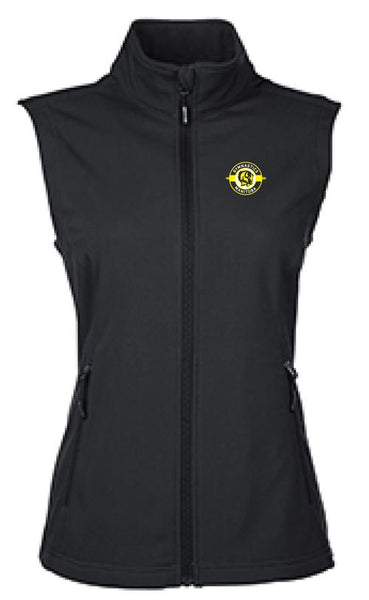 Soft Shell Vest: Core 365 Cruise Two-Layer Fleece Bonded