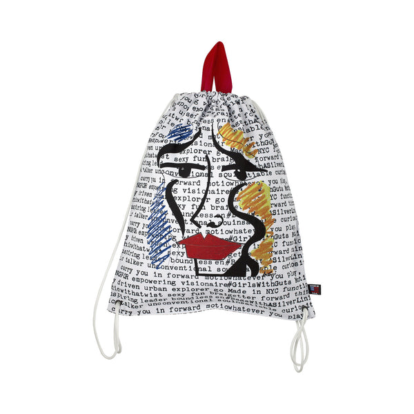 Anna Laurini Drawstring Bag