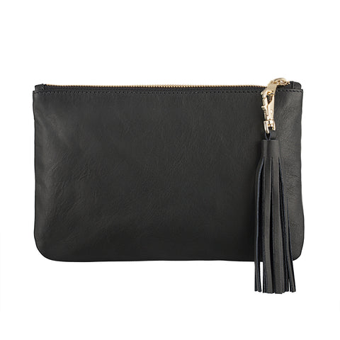 Black & Gold Celebrity Clutch