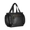 Black & Gold Heavyweight Zip Top Duffel