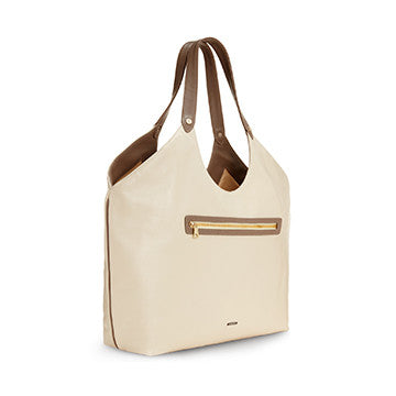 Cremini Welterweight Triangle Top Tote