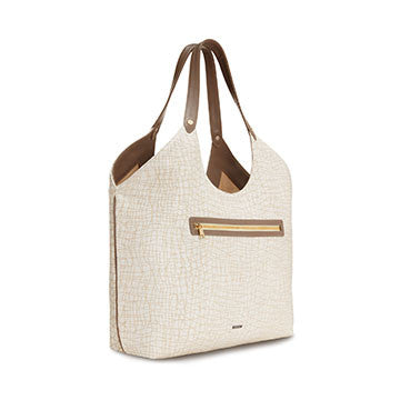 Truffle Welterweight Triangle Top Tote