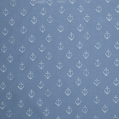 anchor, seaside, john lewis, pvc fabric, diy project, diy home, interior, blue