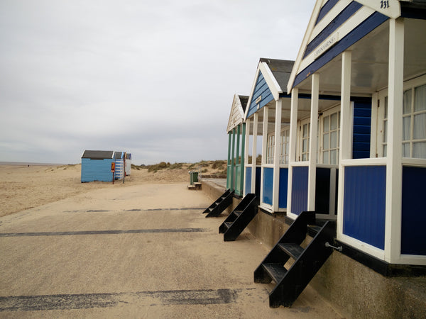 southwold, beach hut, seaside, england
