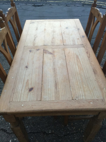 furniture, home, interior, farmhouse dining room table, kitchen table, pine table, cottage dining table